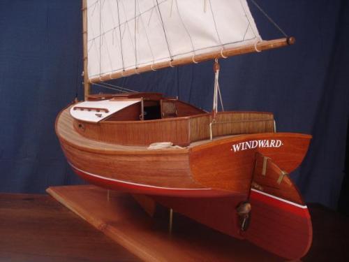 Cape Cod Cat Boat - Windward